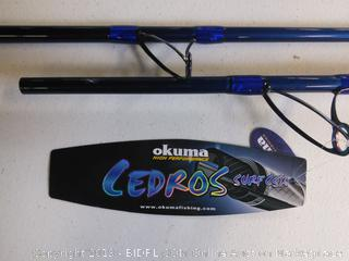 Okuma Fishing Cedros Surf CSX pole  (Online $132)