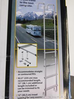 Universal Exterior RV Ladder