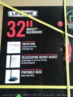 """Lifetime 32"""" Impact Backboard"""