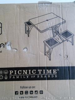 Portable Folding Picnic Table (Online $87)