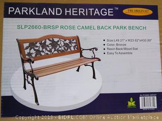 "Park Bench (49.21"" x 23.62 x 30.89"")"