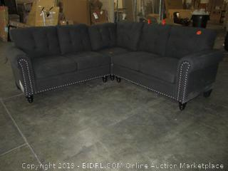 Sectional Sofa (Damaged) (Please Preview)
