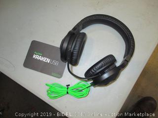 Razer Kraken USB Over Ear Headphones Refurbished