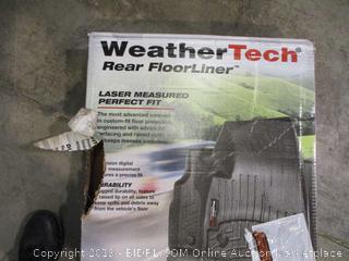 WeatherTech Rear Floor Liner