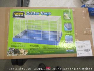 Chew Proof Critter Cage