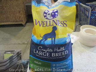 Wellness Complete Health Large Breed Dog Food