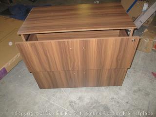 wood nightstand/dresser item
