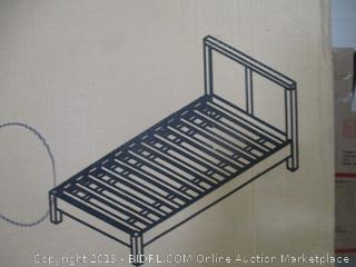 platform twin bed