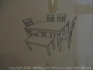dining room table/chair set