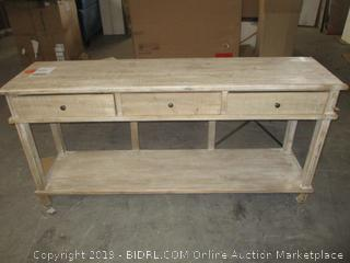 console table - damaged
