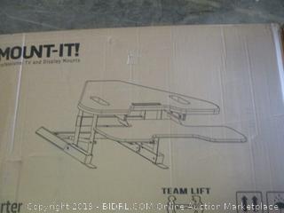 mount-it! sit-stand desk converter