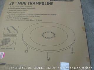 """48"""" mini trampoline - please preview"""