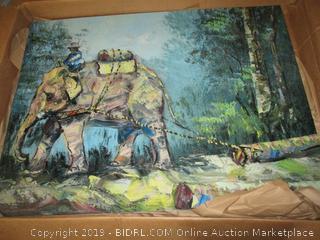 artwork - damaged