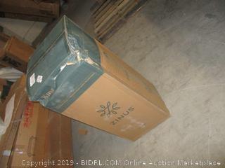 "zinus king size 6"" memory foam mattress"