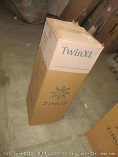 "zinus twinXL 8"" memory foam mattres"