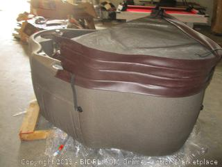 AquaRest hot tub *******Updated Description. Has a smell
