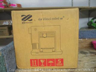 da Vinci mini w+ 3D printer