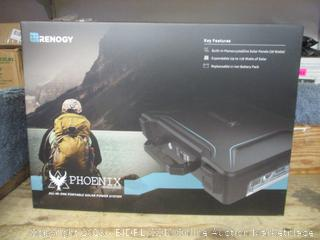 renogy phoenix portable solar power system