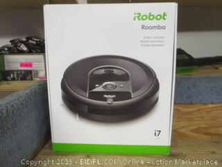 iRobot roomba vacuuming robot
