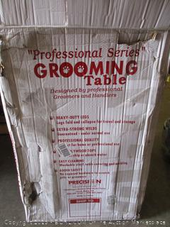 professional series grooming table