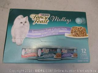 fancy feast medleys cat food variety pack