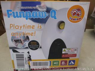 Funpaw Q interactive pet camera
