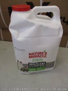 nature's miracle multi-cat clumping litter