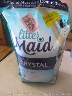 litter maid large crystal litter