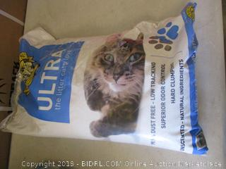 ultra cat litter (open)
