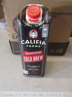 califia farms concentrated cold brew