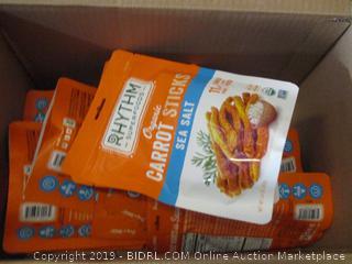 sea salt carrot sticks