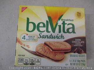 belvita sandwich snacks