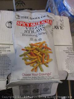 spicy sriracha veggie straws