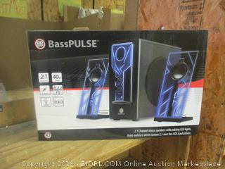 Bass Pulse Stereo Speakers