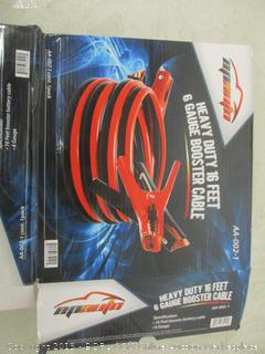 Heavy Duty 16 Feet 6 Gauge Booster Cable