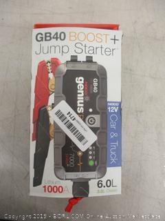 GB40 Boost + Jump Starter