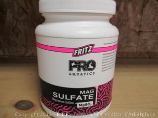 Fritz Pro Aquatics Mag Sulfate
