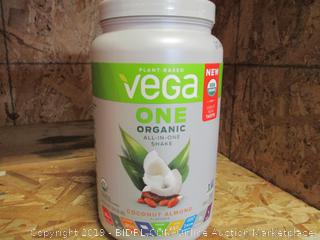 Plant Based Vega One Organic Protein Powder