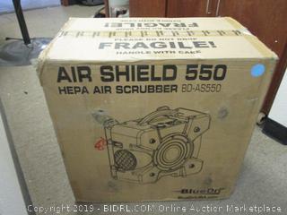 Air Shield 550 Hepa Air Scrubber