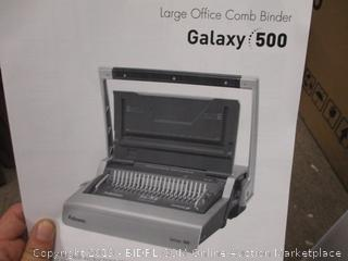 Galaxy 500 Large Office Comb Binder