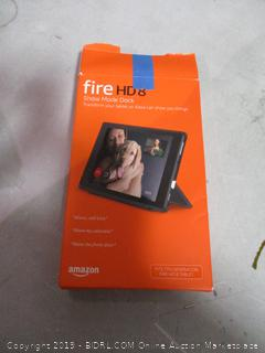 Fire HD 8 - Incomplete