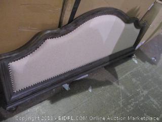 King Upholstered Footboard