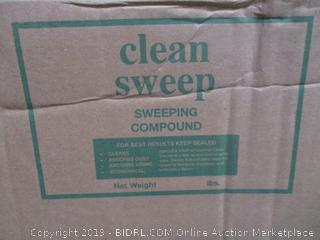 Sweeping Compound