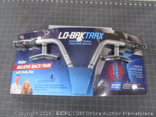 Lo-Bak Trax Portable Spinal Traction Device