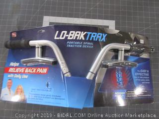 Lo Bak Trax Portable Spinal Traction Device