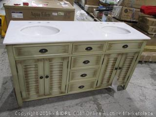 Vanity Cabinet with double sinks