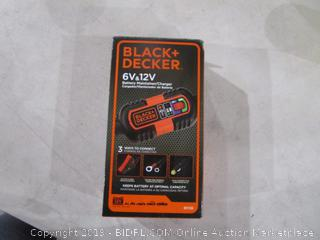 Black + Decker Battery  Maintainer/Charger