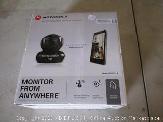 Motorola  Wi Fi Video Pet monitor Camera
