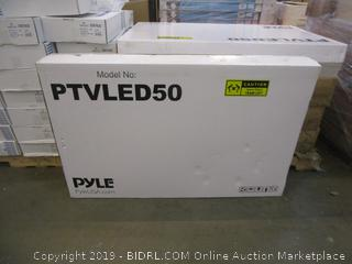 PTVLED50   50 LED FHD Monitor Powers On See Pictures