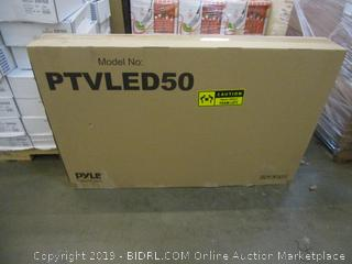 Pyle PTVLED50  50 LED FHD Monitor Powers On See Pictures